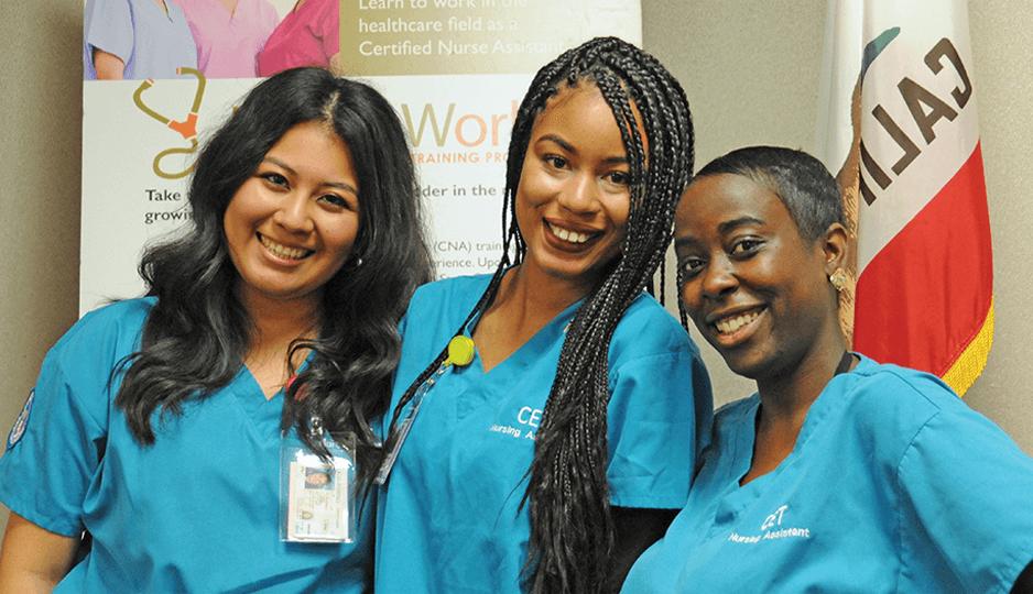 JVSWorks HealthWorks Graduates